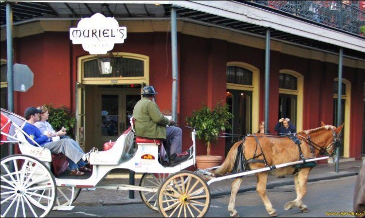 ניו אורלינס רחוב בורבון New Orleans Street Bourbon | על המזוודות - הבלוג של אושרה קמחי
