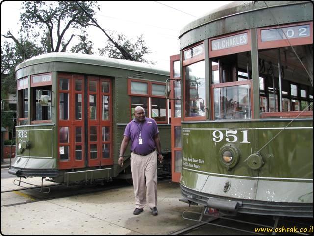 חשמלית בניו אורלינס New Orleans Streetcar 1