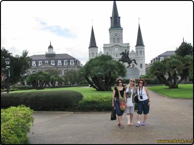 כיכר ג'קסון ניו אורלינס Jackson Square New Orleans