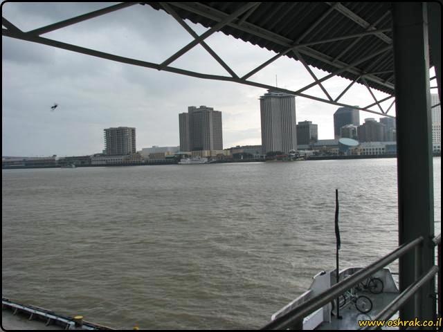 ניו אורלינס המעבורת של רחוב קנאל Canal Street Ferry New orleans