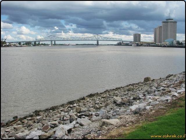 ניו אורלינס Woldenberg Riverfront Park New orleans
