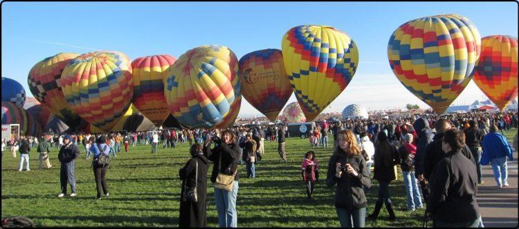 ניו מקסיקו – פסטיבל כדורים פורחים באלבקרקי | New Mexico - Baloon Fiesta Albuquerque