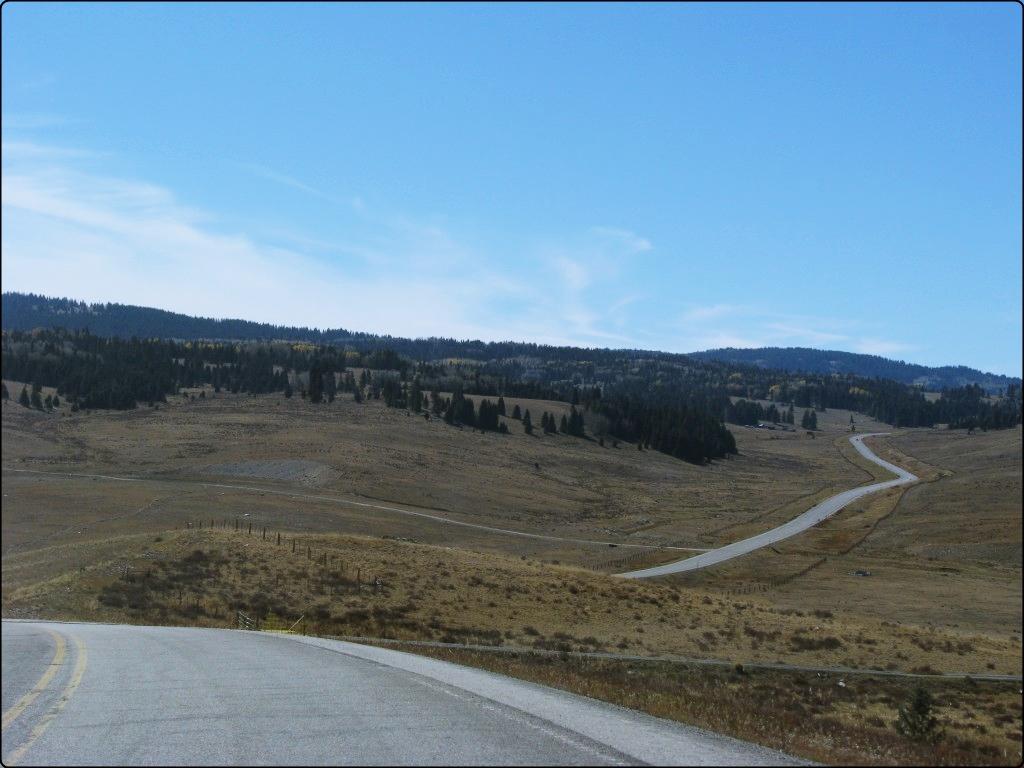 נסיעה בדרכים צדדיות בין ניו מקסיקו לקולורדו