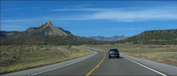 בין ניו מקסיקו לקולורדו | Between New Mexico and Colorado