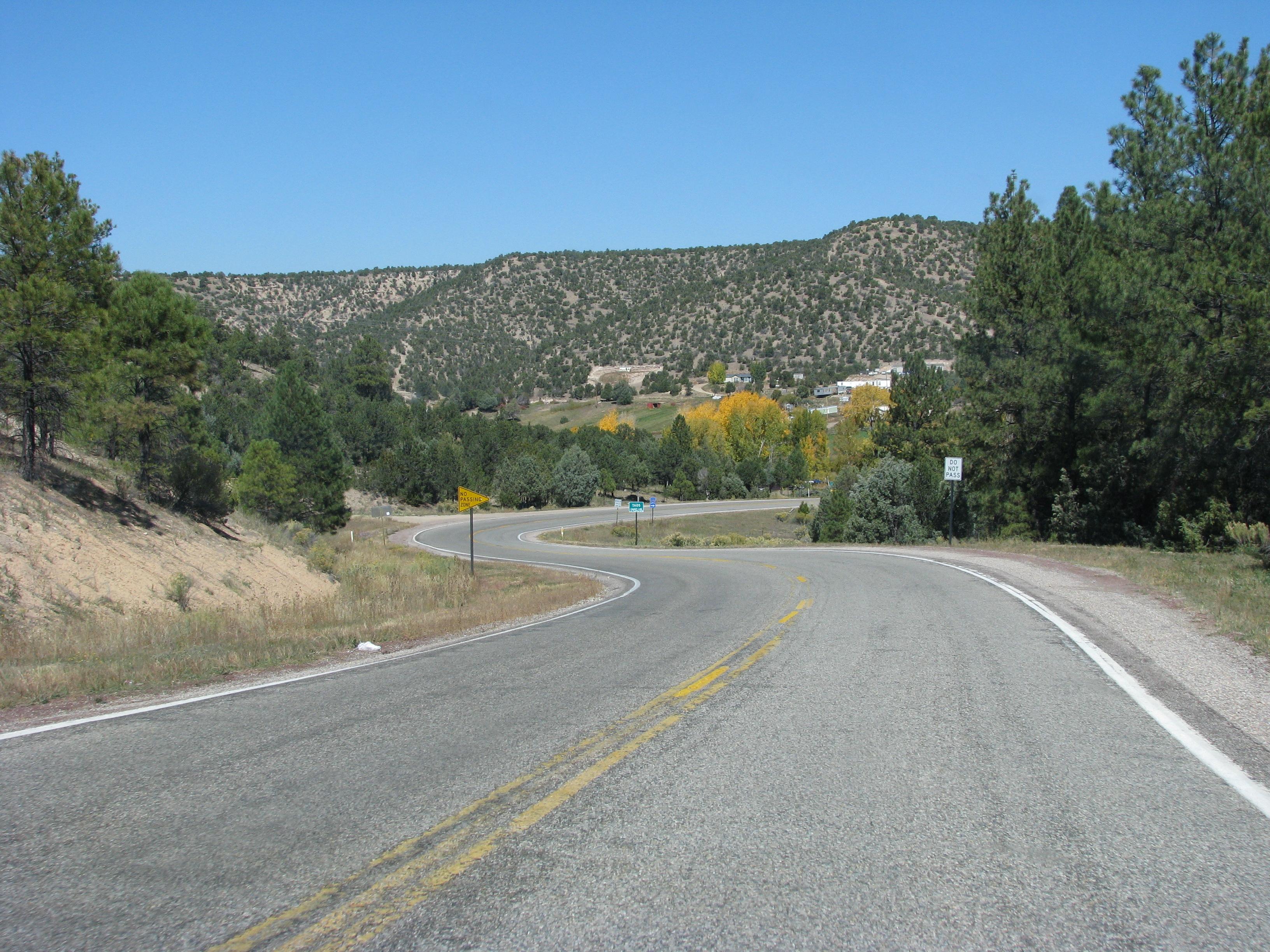 בדרך לטאוס, ניו מקסיקו