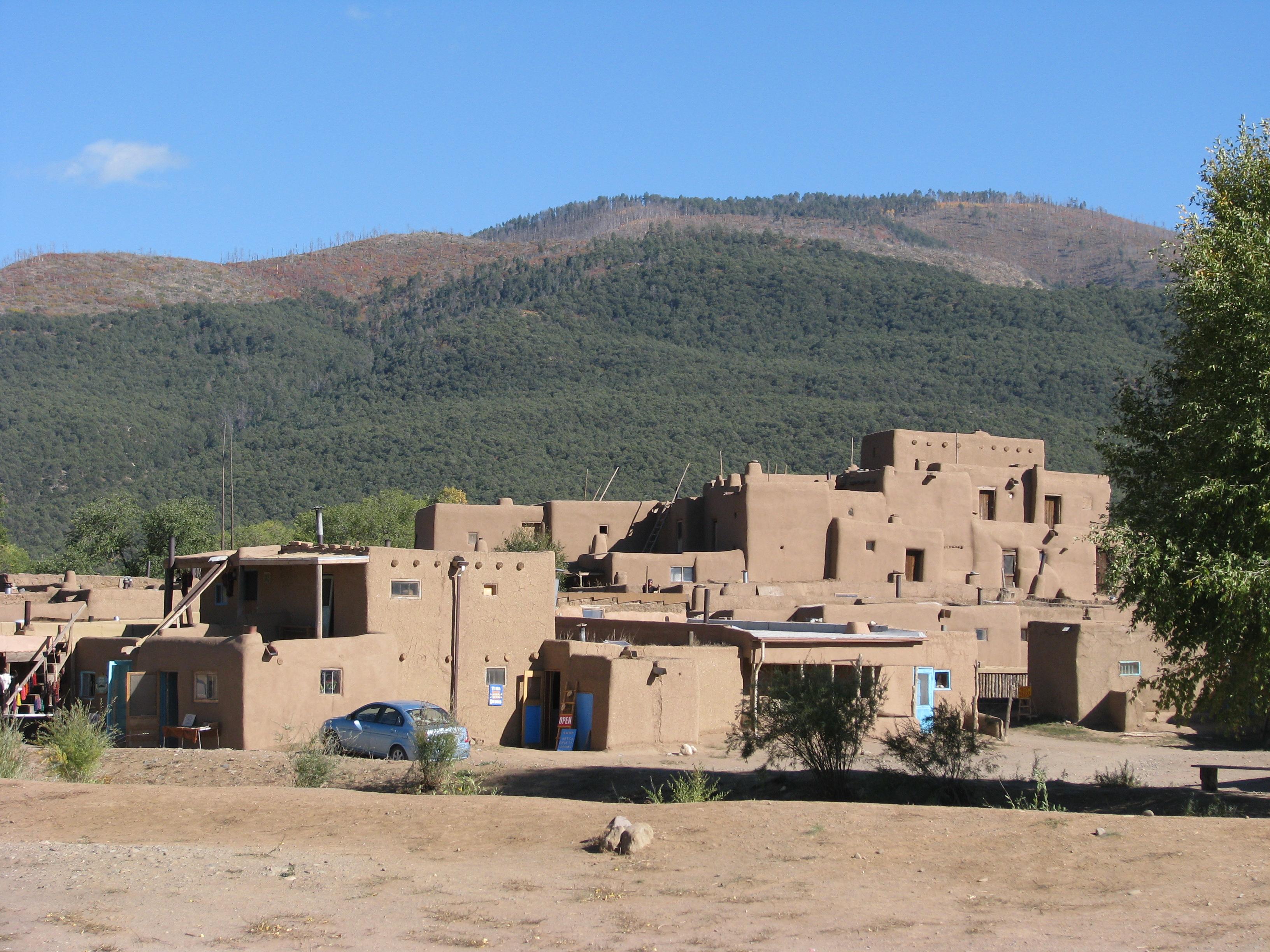 טאוס פואבלו (Taos Pueblo), ניו מקסיקו