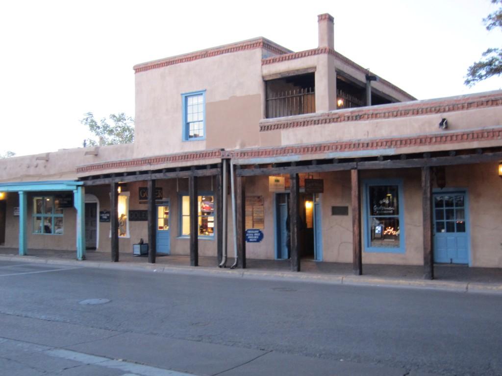 רחוב בסנטה פה, ניו מקסיקו