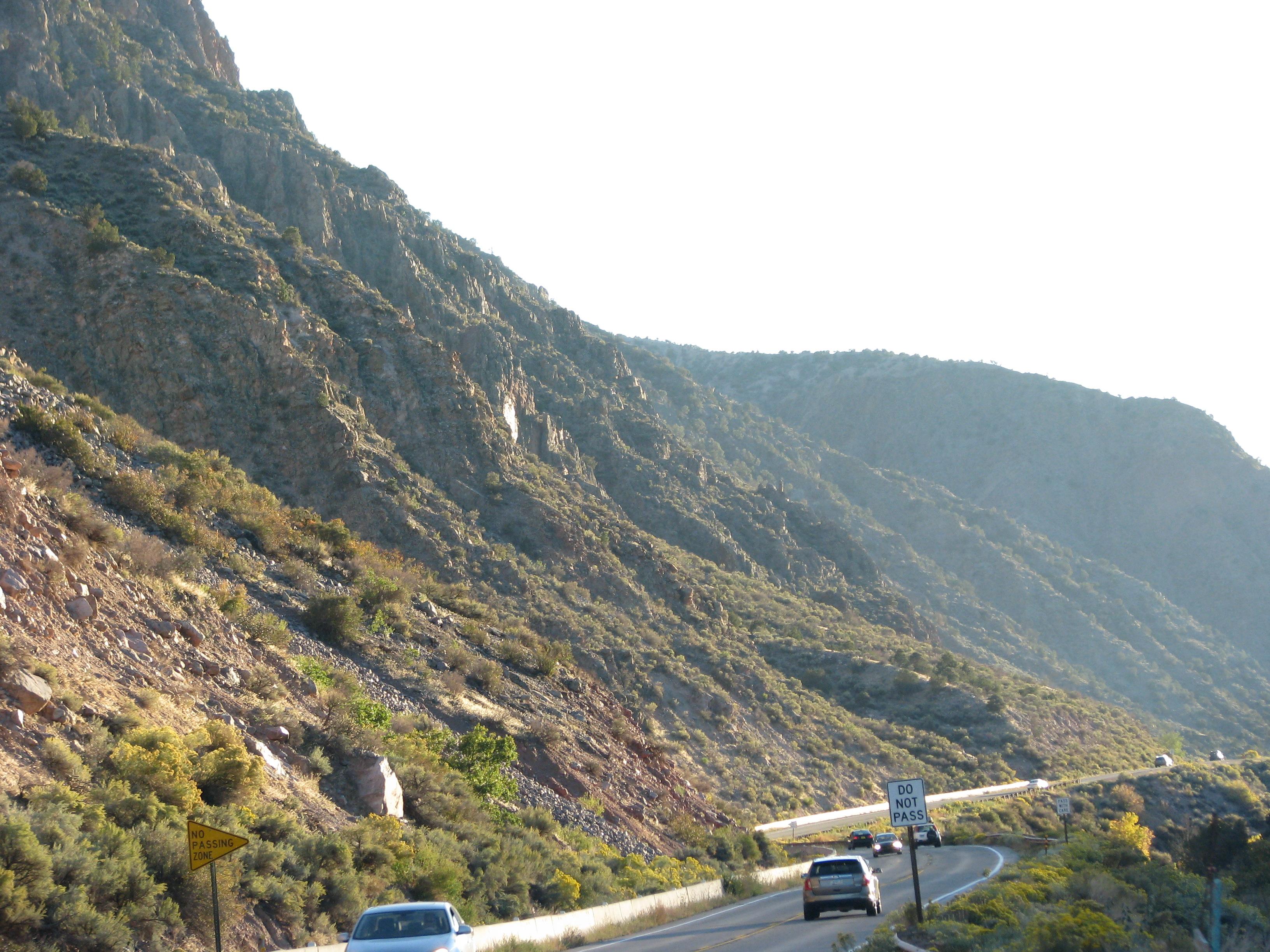 בדרך מטאוס לסנטה פה, ניו מקסיקו