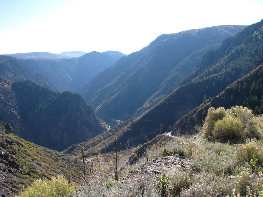 קולורדו – הקניון השחור של הגאניסון (The Black Canyon of the Gunnison)