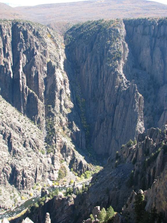 קולורדו - הקניון השחור של הגאניסון (The Black Canyon of the Gunnison)