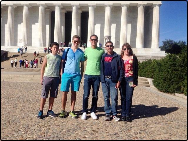 מסלול טיול מזרח ארצות הברית - משפחת שנער בוושינגטון. ספטמבר 2014