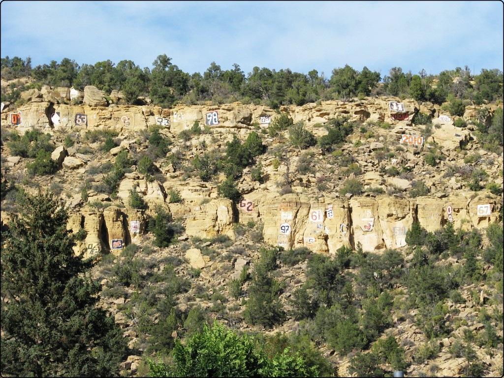 אורדרוויל - סלעים ממוספרים
