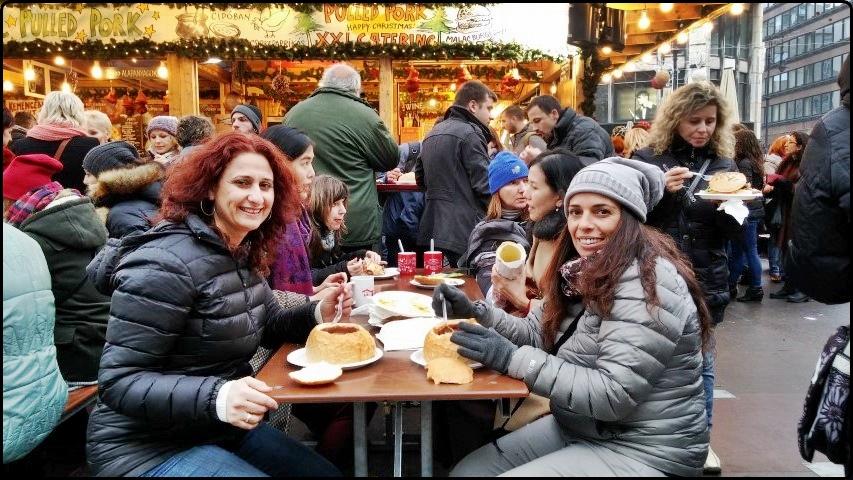 Budapest - Lunch in Vörösmarty tér | בודפשט - ארוחת צהריים בכיכר וורוסמרטי