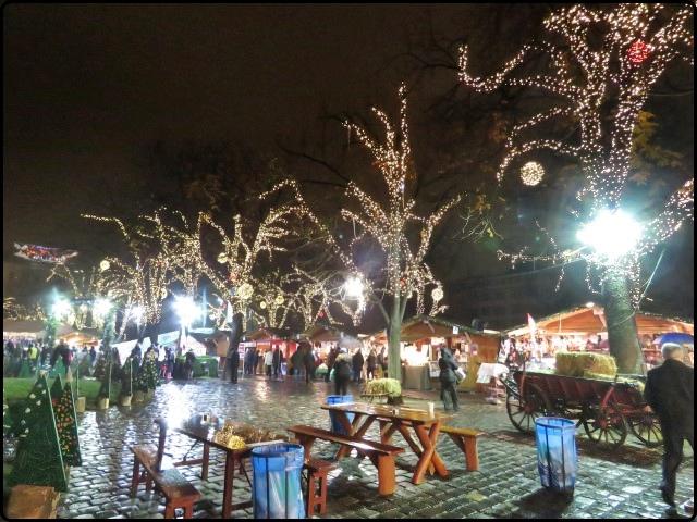 Budapest - Városháza Park market | בודפשט - השוק ב Városháza Park