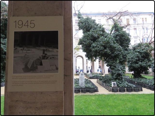 Busapest - Dohány utcai Zsinagóga -Grave | בודפשט - קבר אחים בבית הכנסת ברחוב הטבק