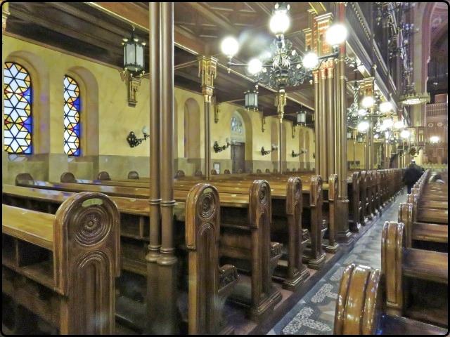 Busapest - Dohány utcai Zsinagóga -inside | בודפשט - בית הכנסת מבט מבפנים