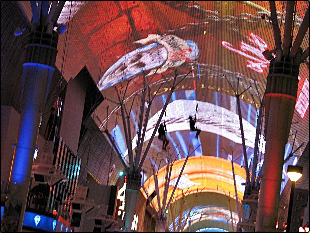 Fremont Street Las Vegas   רחוב פרימונט בלאס וגאס
