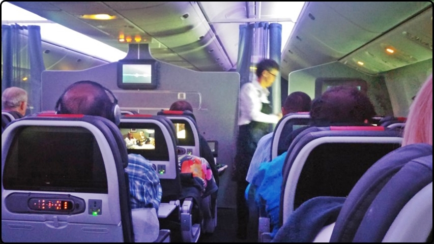טיסת אמריקן איירליינס - ערכות בידור במטוס