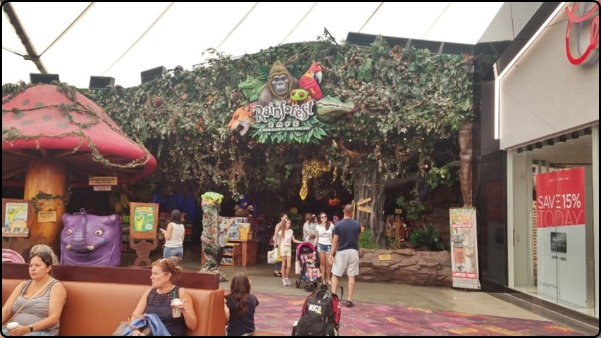 סוגראס - Rain Forest Cafe