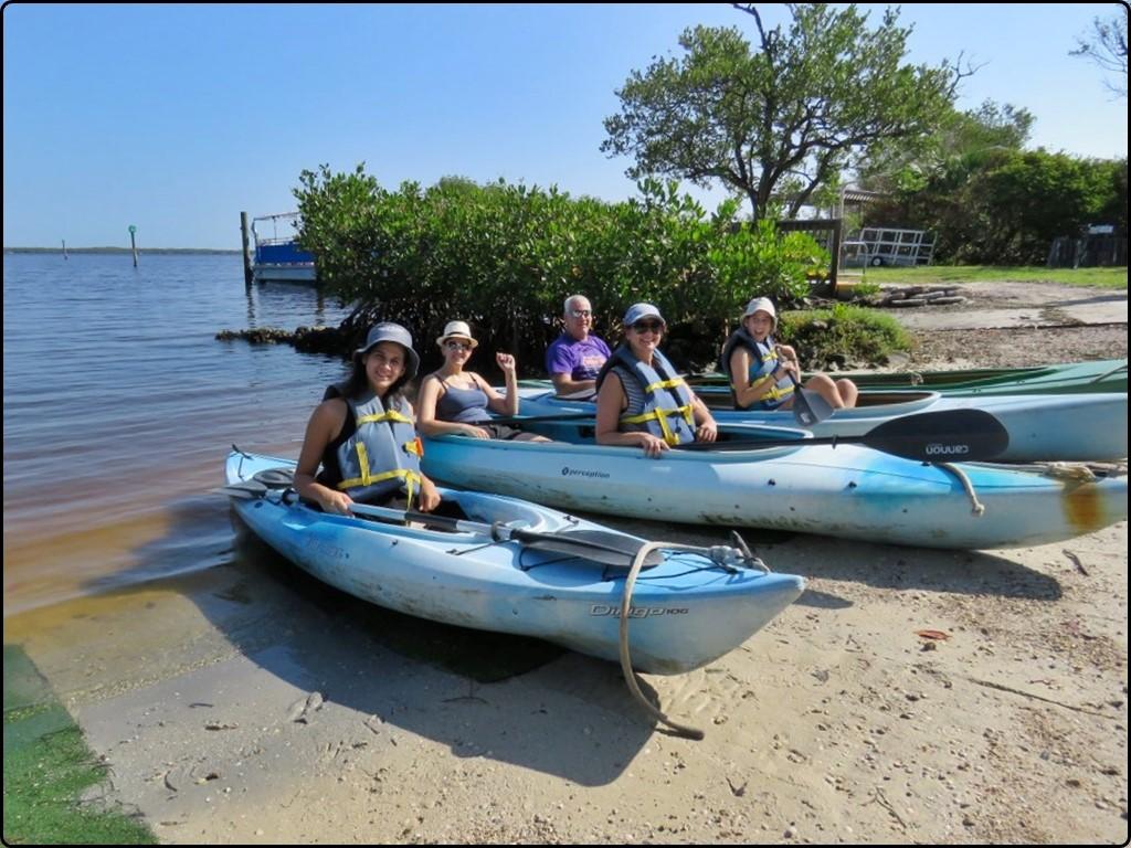 פלורידה שיט קייאקים באי סניבל | Florida Kayak sailing on Sanibel Island