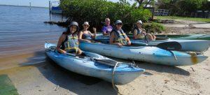 פלורידה שייט קייאקים Florida Tarpon Bay Sanibel Island