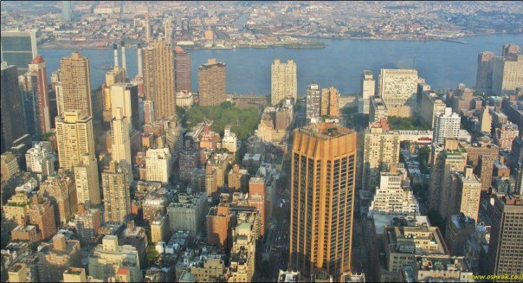 ניו יורק תצפית מהאמפייר סטייט בילדינג | New York City View from the Empire State Building
