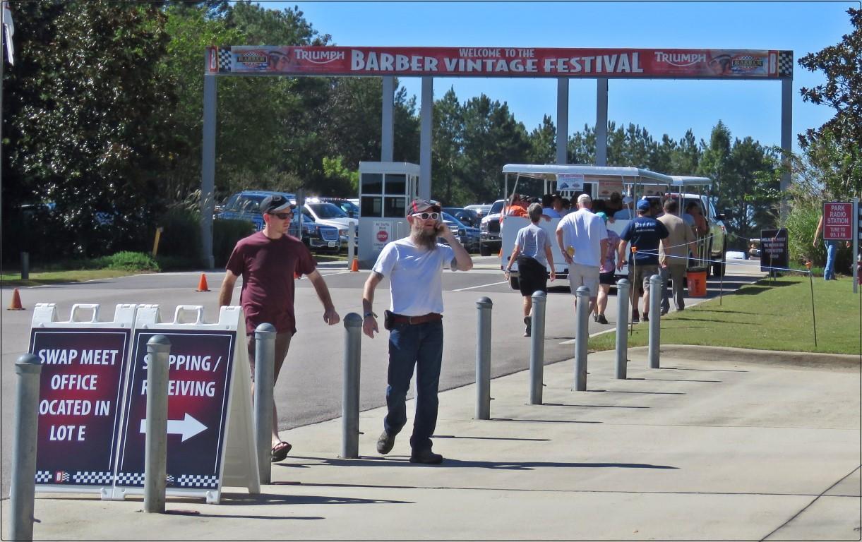 פסטיבל אופנועים - Barber Vintage Festival