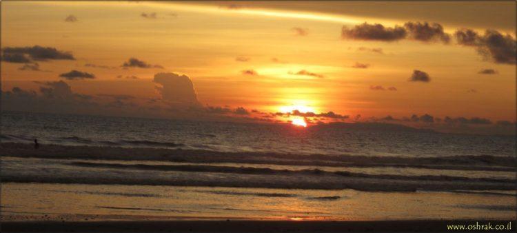 שקיעה לחופי חאקו, קוסטה ריקה (Custom)