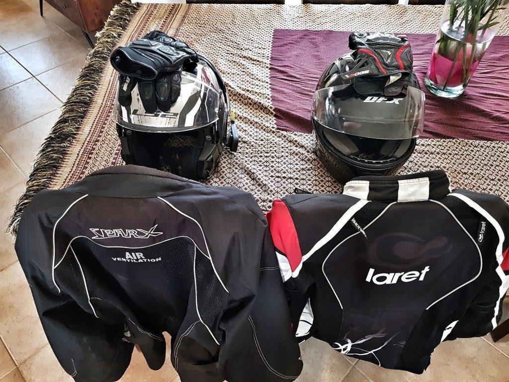 אושרה קמחי - על המזוודות. טיול בישראל עם אופנוע - הכל מוכן בוא נצא לדרך