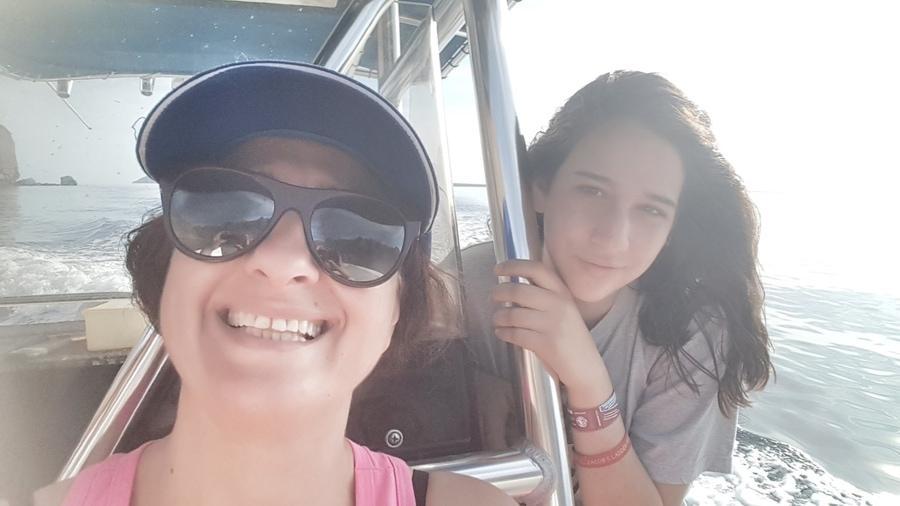 אושרה קמחי - מקסיקו עם ילדים - דייג Tierra Marina Tours