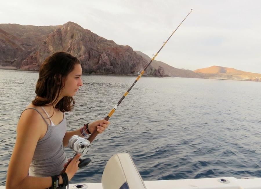 אושרה קמחי - באחה קליפורניה הדרומית - דייג במפרץ קליפורניה Baja California