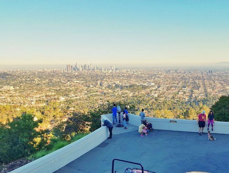 על המזוודות - טיול משפחתי בלוס אנג'לס - מצפה כוכבים הוליווד