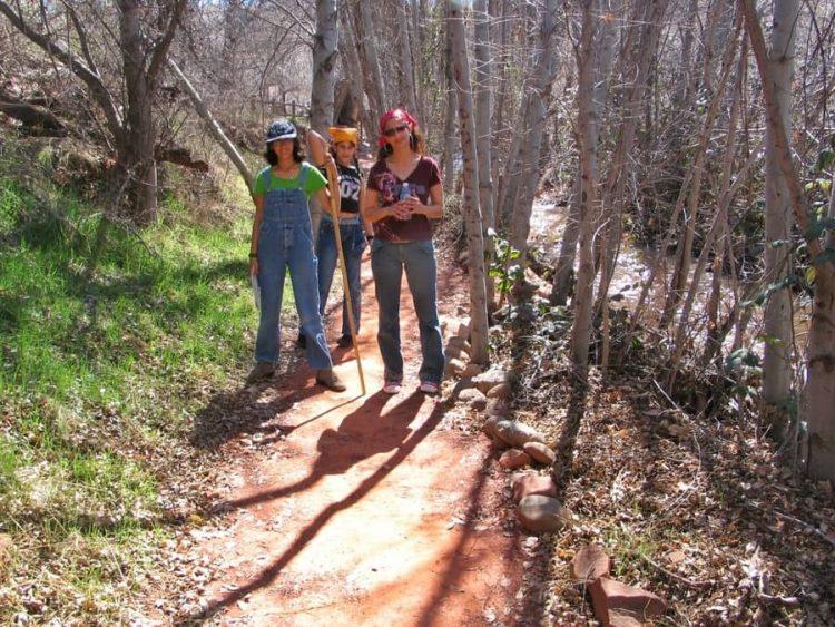 אושרה קמחי - אריזונה red rock state park
