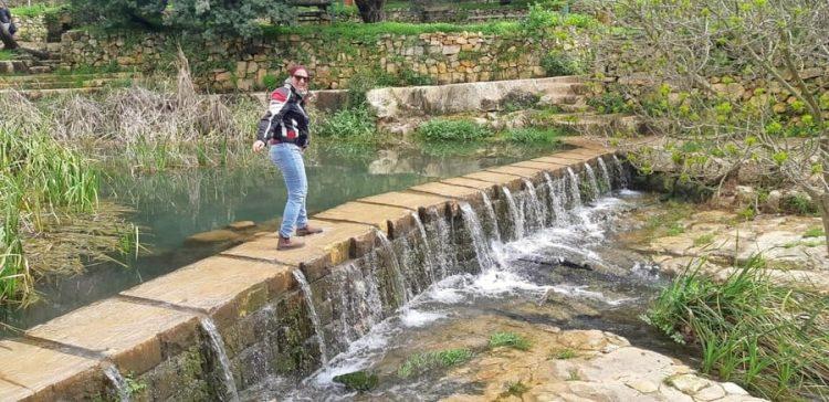 אושרה קמחי - מסלול טיול בהרי ירושלים - עין חמד גן לאומי