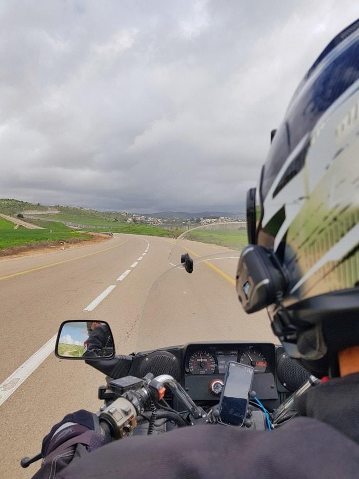 אושרה קמחי - טיול אופנועים מטללים לעין חמד
